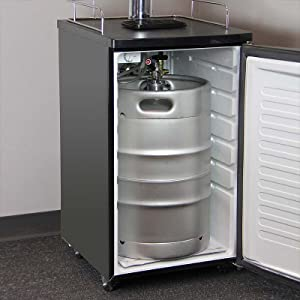 Amazon Com Kegco Kegerator Full Size Keg Cooler Single