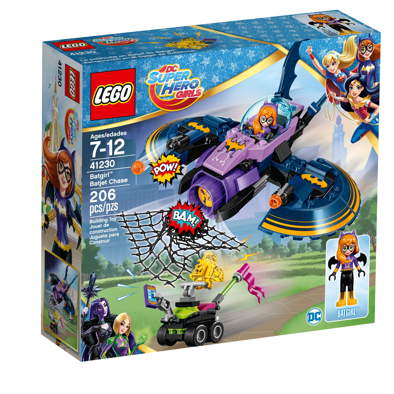 Lego dc super hero girls 41230 batgirl batjet - Logo super heros ...