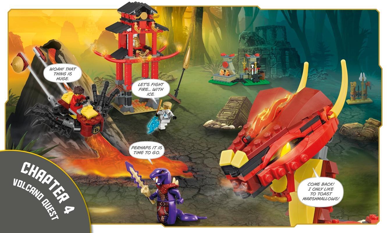 Lego Ninjago Build Your Own Adventure Dk 9781465435903 Amazon