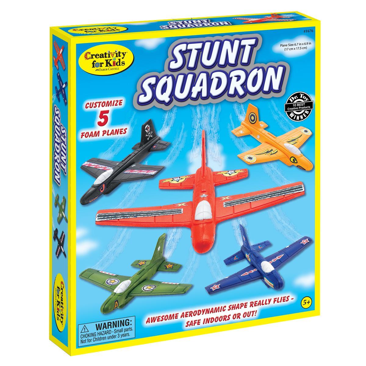 amazon com creativity for kids stunt squadron toys u0026 games