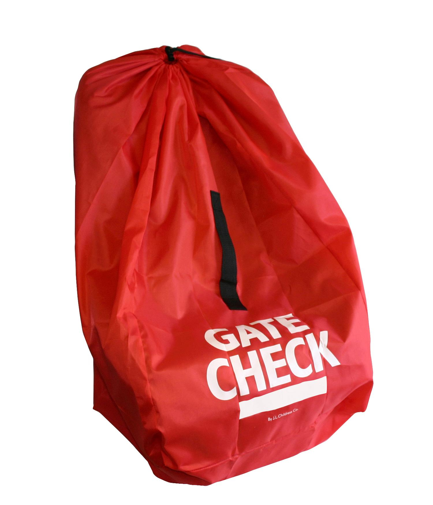 Amazon Com Jl Childress Gate Check Bag For Car Seats Red