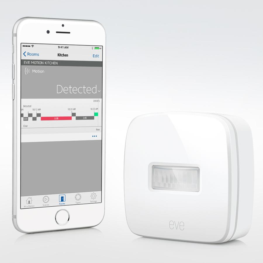 Elgato Eve Motion Wireless Motion Sensor With Apple
