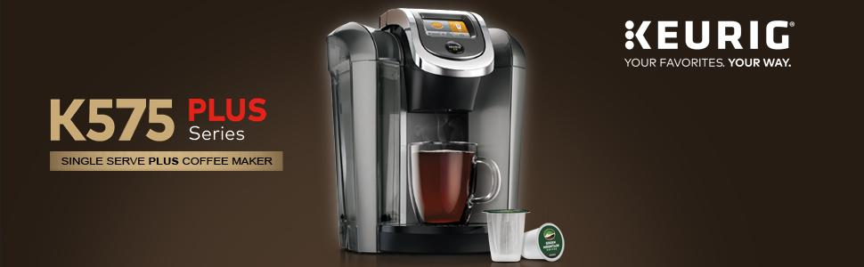Coffee Maker With Hot Water On Demand : Amazon.com: Keurig K575 Single Serve Programmable K-Cup Coffee Maker with 12 oz Brew Size and ...