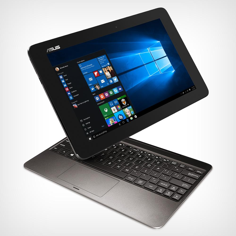 Amazon.com: ASUS Transformer Book T100HA-C4-GR 10.1-Inch 2 in 1 Touchscreen Laptop (Cherry Trail ...