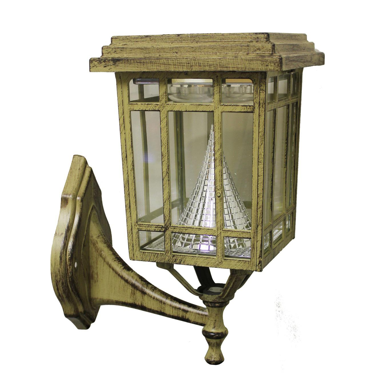 Outdoor led wall lantern olde bronze wall porch lights amazon com -  Outdoor Solar Light On Wall Mount View Larger