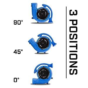 Amazon Com B Air Vent Vp 25 1 4 Hp 900 Cfm Compact Air