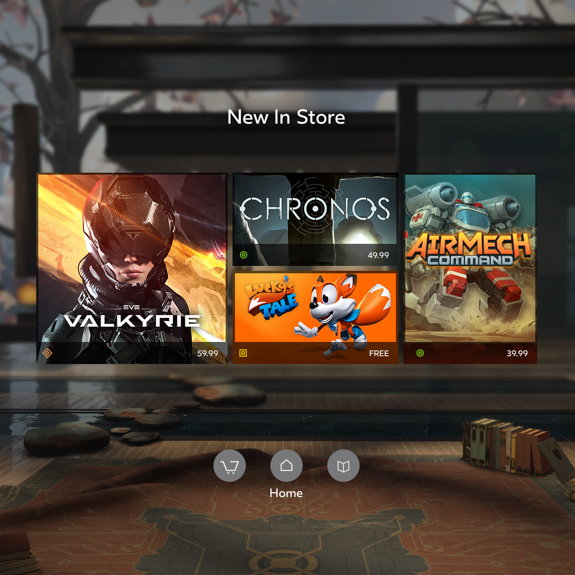 Games: Virtual Reality Headset: Pc