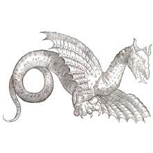 dragon statues, dragon wall art, dragons