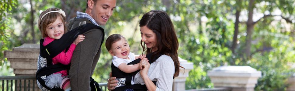 Amazon Com Infantino Sash Mei Tai Carrier Black Gray