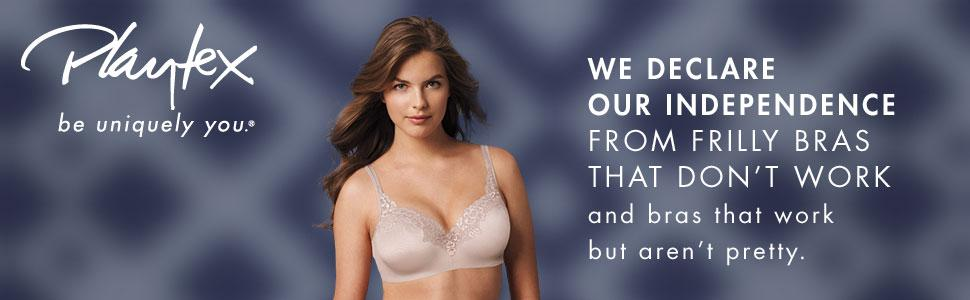 f0005c4f151 Playtex Women s 18 Hour Ultimate Lift and Support Wire Free Bra at ...