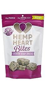 hemp heart bites protein snack