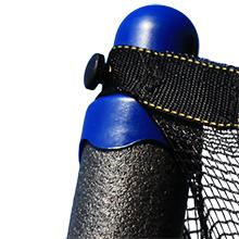 pole,cap,enclosure,poles,padded,net,safety