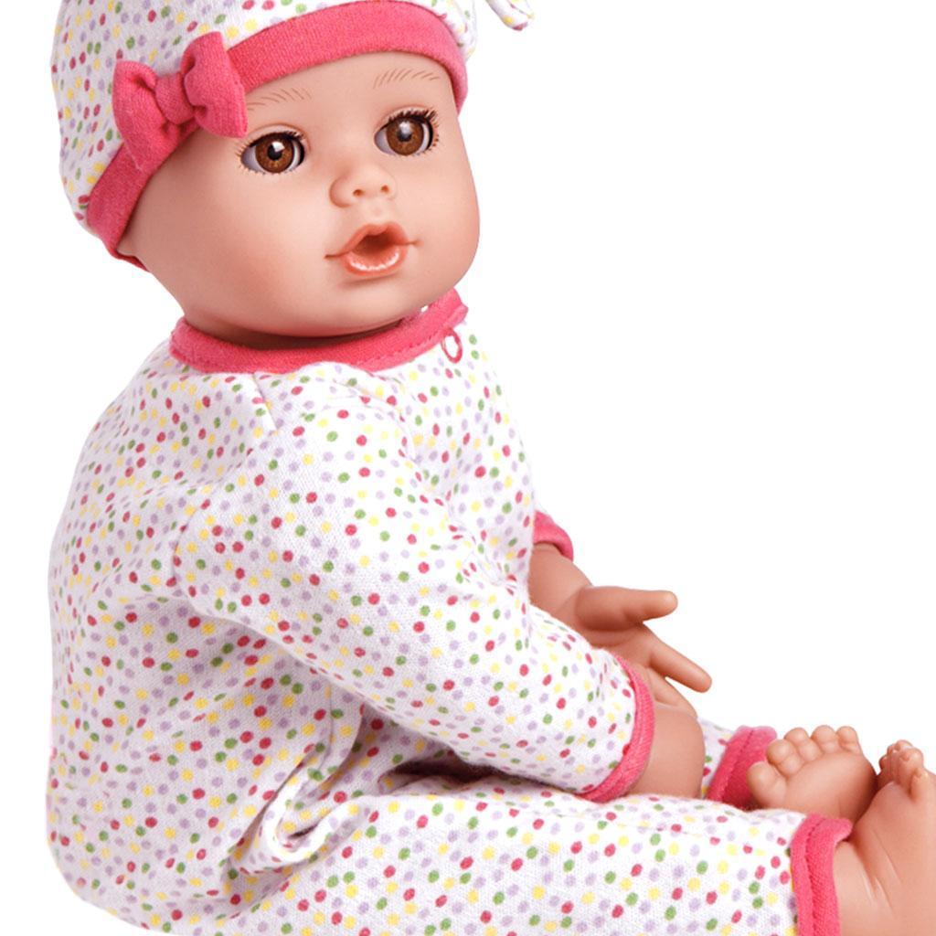 Amazon Com Adora Playtime Baby Dot Vinyl 13 Quot Girl