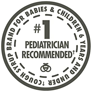 #1 Pediatrician-Recommended Cough Syrup Brand for Babies & Children 6 & Under†