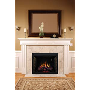 ClassicFlame 39EB500GRA 39  Built In Electric Fireplace