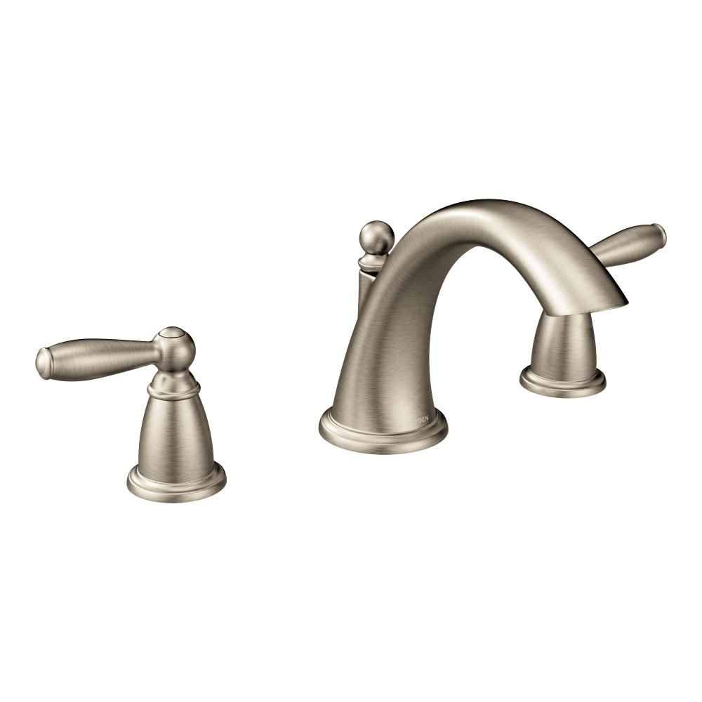 Moen T4943BN Brantford Two-Handle Low-Arc Roman Tub Faucet without ...