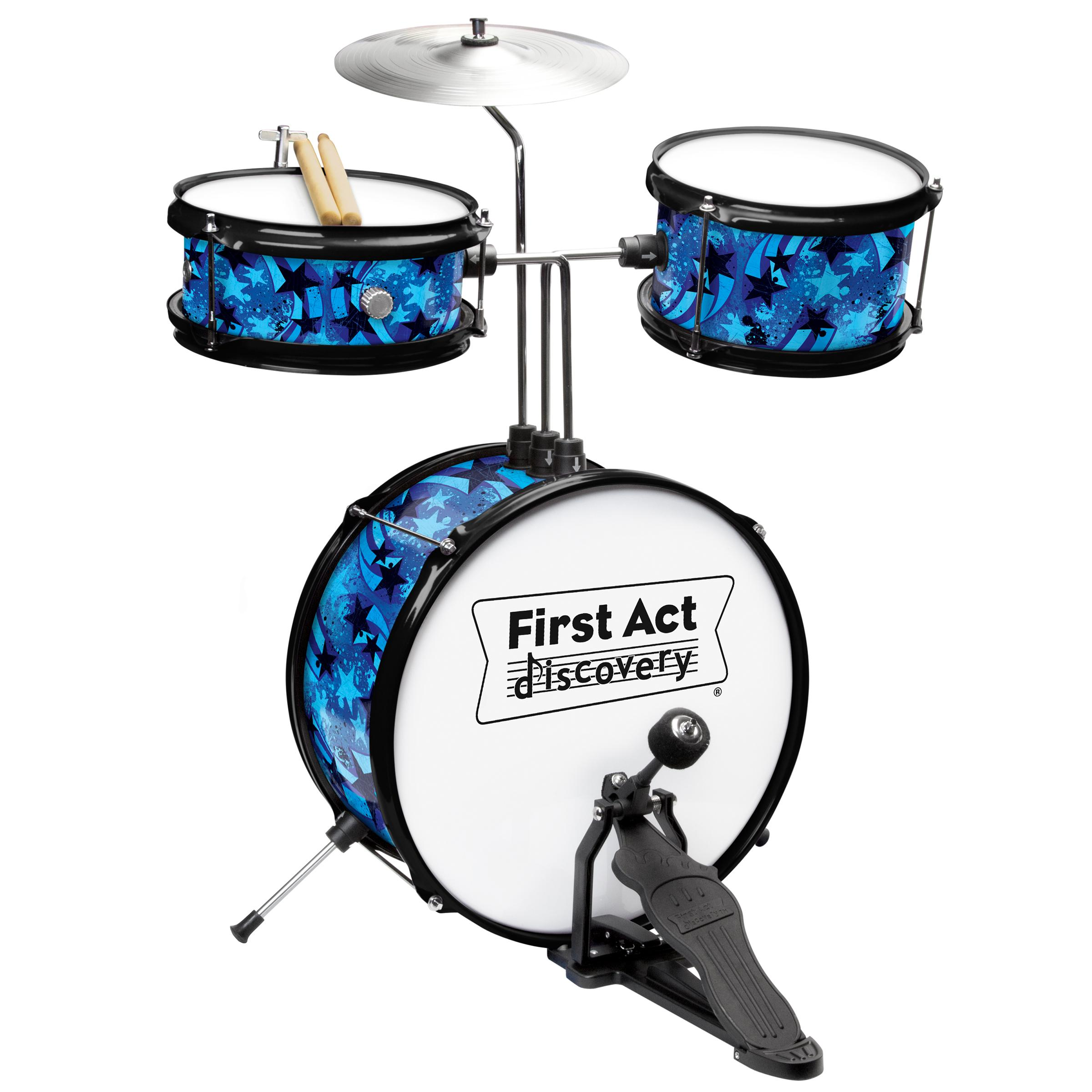 First Act Discovery Blue Swirls Stars Designer Drum Set Pin Snare Parts Diagram On Pinterest From The Manufacturer