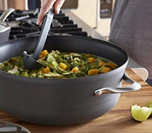 Calphalon Contemporary Nonstick 8.5-Quart Covered Dutch Oven - How to Coook with Nonstick