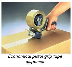 Industrial tape dispensers / tape guns ipg.