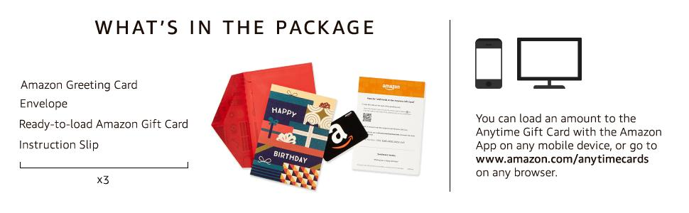 Amazon.com: Amazon Premium Greeting Cards with Anytime Gift Cards ...