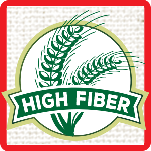 High fiber, fiber, healthy digestion, good fiber source, good source of fiber, soluble fiber