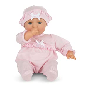 baby doll, preschool, toddler, doll for 18 month old girl, pacifier, newborn