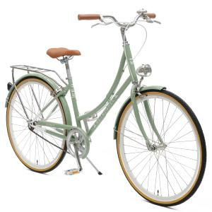 Venus Single-Speed Women's City Bike Drivetrain