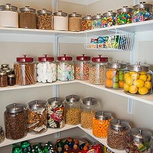 Organize; Pantry Storage; Durability; Glass; Sizes