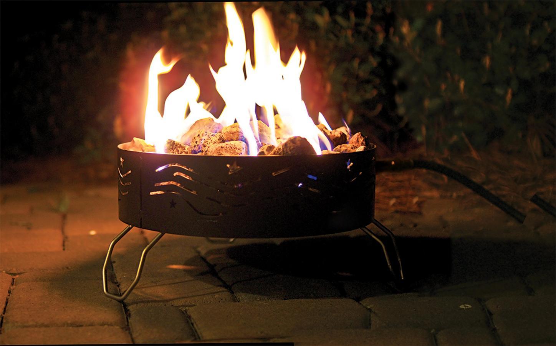 Amazon Com Camco Portable Propane Outdoor Campfire With