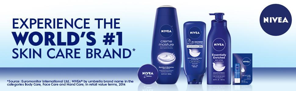 NIVEA world's #1 skin care brand