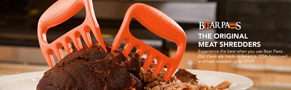 pulled pork, gifts for dad, bbq accessories, bear claws