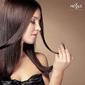 This leave in hair treatment creme transforms damaged split ends into healthy-looking hair