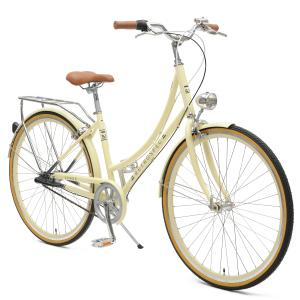 Venus Three-Speed Women's City Bike Drivetrain
