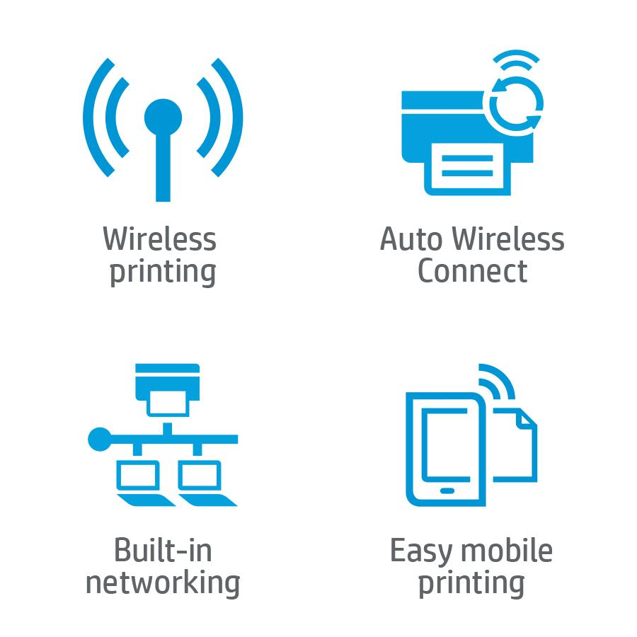 how to change the network on a wireless printer
