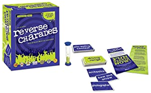 charade, reverse charades, party game, family game, board game, game night