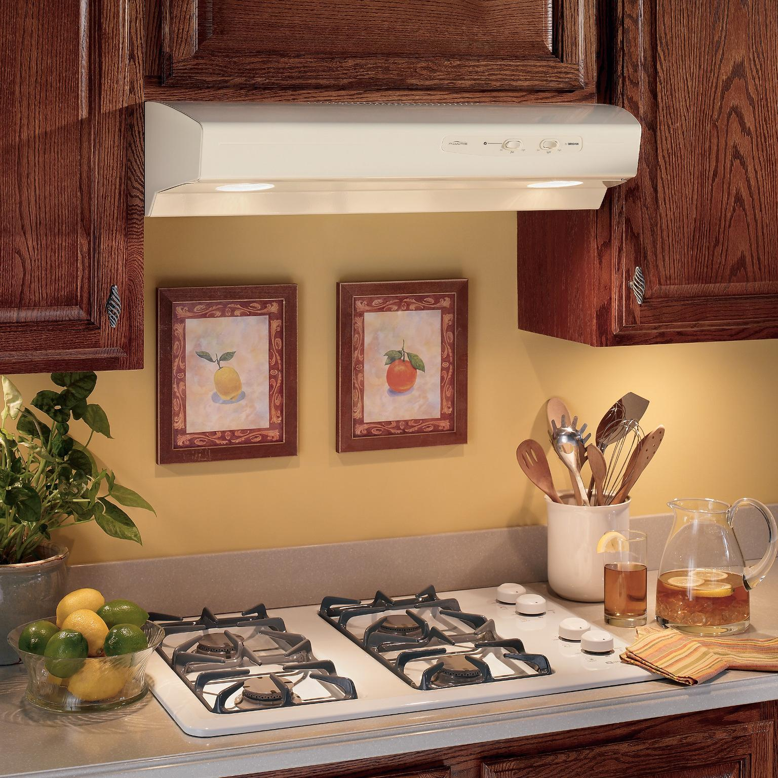 broan qs136ss allure range hood 36 inch stainless