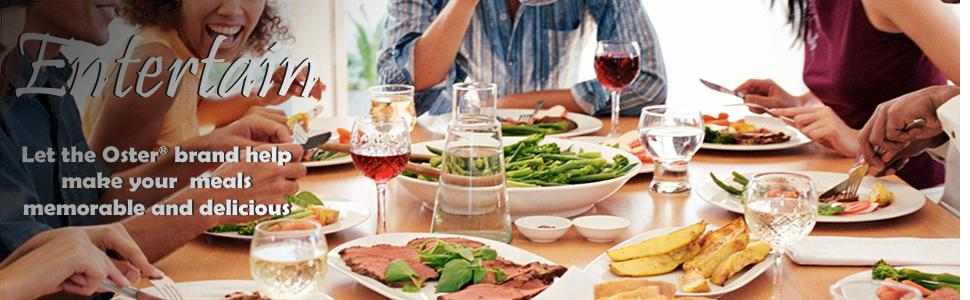 Oster, thanksgiving, roaster, turkey, holidays, entertaining