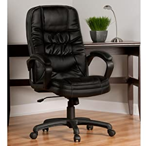 Comfort Products Soft Touch Leather Executive Chair