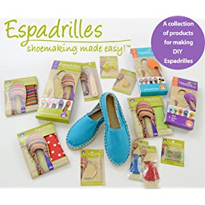 A comprehensive create-your-own espadrille program