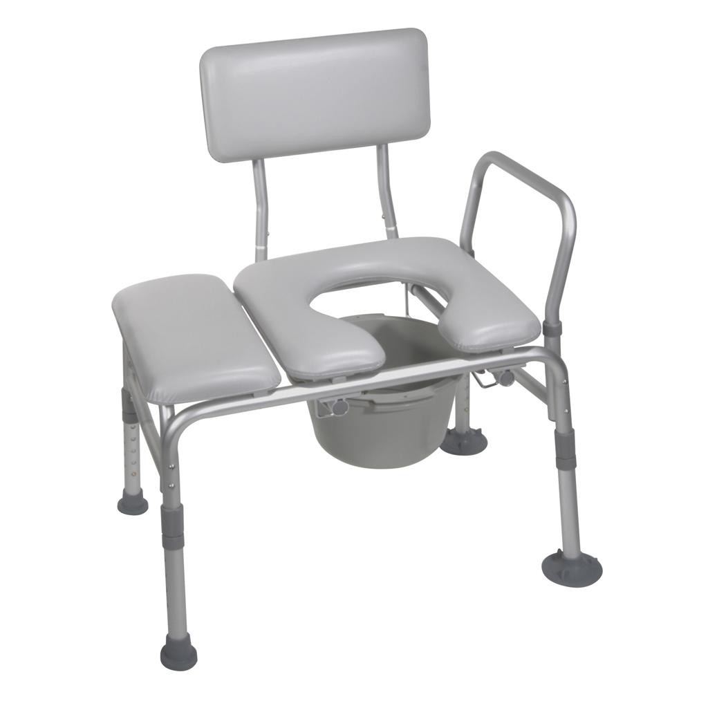 Amazon.com: Drive Medical Combination Padded Seat Transfer Bench ...