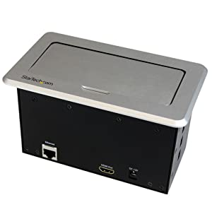 Amazon Com Startech Com Conference Table Connectivity Box