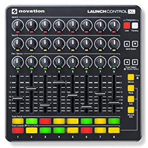 Novation Launch Control XL Ableton Live Controller, Available in Black