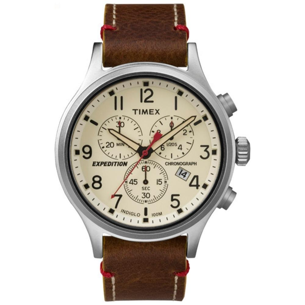 Amazon Com Timex Men S T499059j Expedition Field Chronograph Watch Timex Watches
