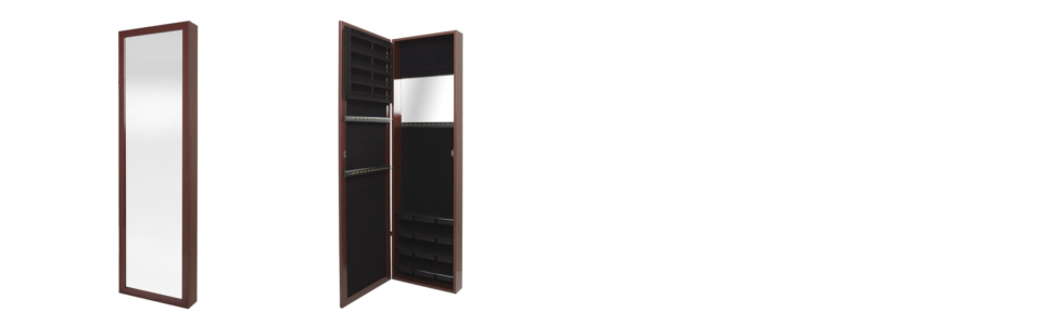 Amazoncom Plaza Astoria Over The DoorWallMount Jewelry Armoire