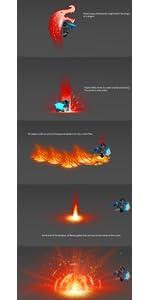 lego nexo knights lava dragon ability