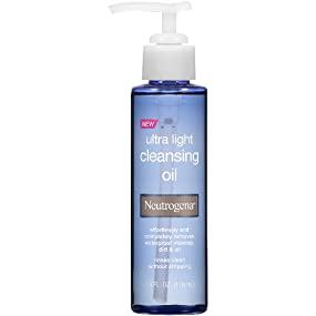 b50a34e1169 Amazon.com : Neutrogena Ultra Light Cleansing Oil, 4 Fl. Oz : Beauty