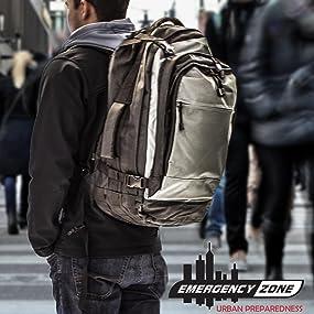 bug out bag tactical prepper emergency backpack preparedness disaster