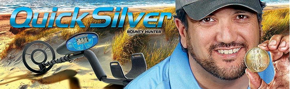 Quick Silver Bounty Hunter Metal Detector