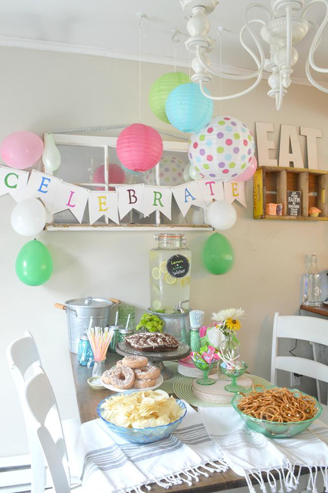 Amazon.com : Bobee Paper Lanterns for Birthday Party Baby ...