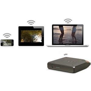 LaCie FUEL Wireless Storage with Wi-Fi 802.11 b/g/n and USB 3.0 (9000436U)